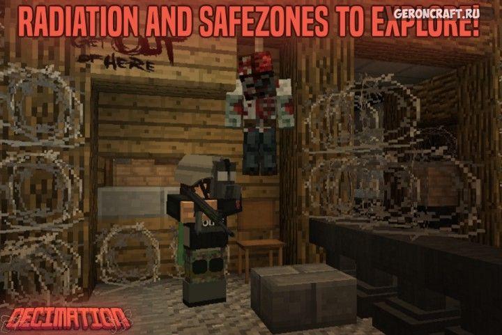 сборка зомби апокалипсис на майнкрафт 1.7.10 #7