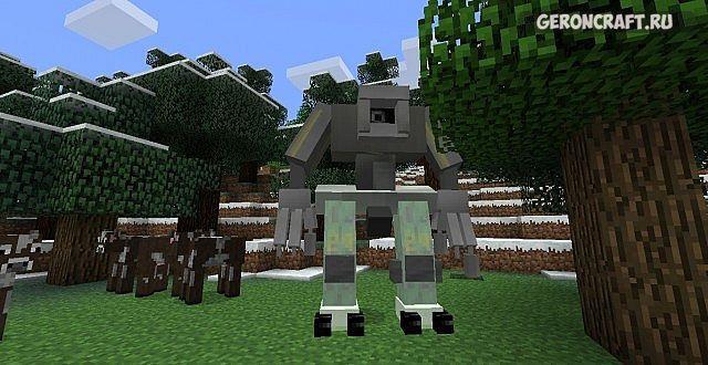моды на роботов в майнкрафт 1.7.10 #3