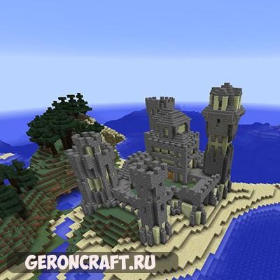Скачать Lets Build — Taiga Castle карту для Майнкрафт [1.12.2] [1.11.2]