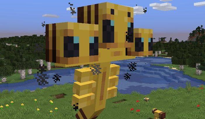 Cursed Minecraft Bees Edition 1 14 4 1 15 проклятые