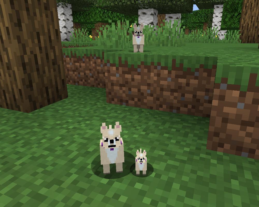 мод на собаку в майнкрафт 1.7.10 #2