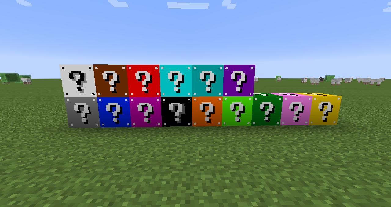 моды на майнкрафт 1.7.10 лаки блоки #3