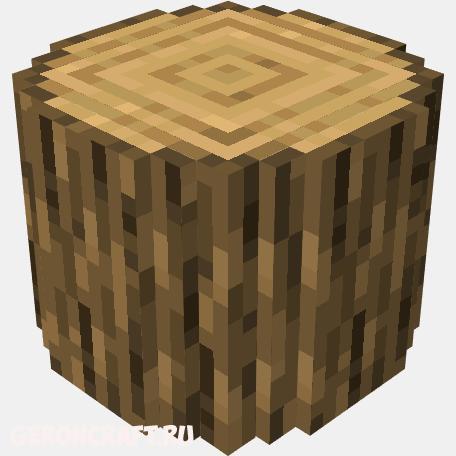 текстуры с круглым деревом для майнкрафт #9