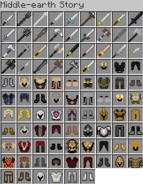 моды на майнкрафт 1.7.2 на оружие и броню #1