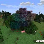 Rainbow Oak Trees [1.11.2] [1.10.2] — скачать мод на майнкрафт 1.11.2