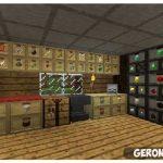 Storage Drawers  [1.12] [1.11.2] [1.10.2] [1.9.4] [1.8.9]  [1.7.10] мод на мебель в Майнкрафт