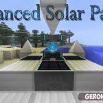 Advanced Solar Panels — мод на технику для IC 2 в Майнкрафт 1.7.10 и 1.10.2