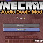 Audio Death [1.11.2] [1.10] [1.9.4] [1.9] [1.8.9] [1.7.10]