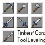 Tinkers Tool Leveling — мод на Майнкрафт 1.11.2 и 1.10.2