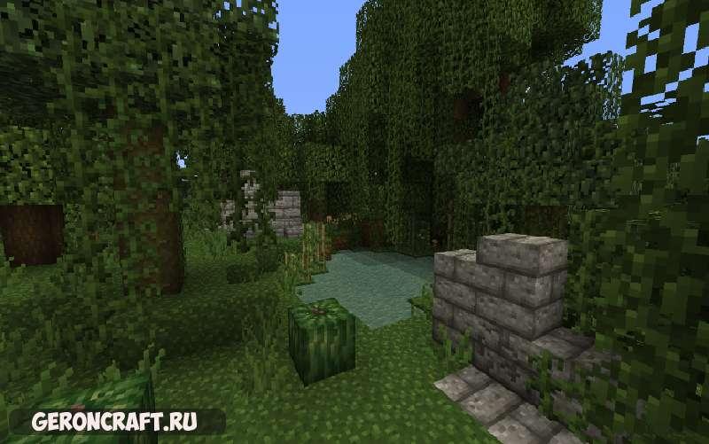 Jungle Ruins x16 Resource Pack [1.10.2] [1.9.4] [1.8.9]
