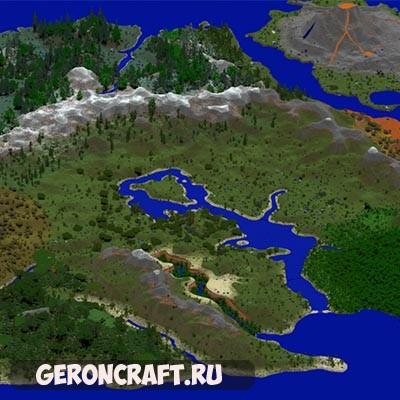 Скачать Elder World — Inspired by the Elder Scrolls games карту для Майнкрафт [1.12.2] [1.11.2] [1.10.2]