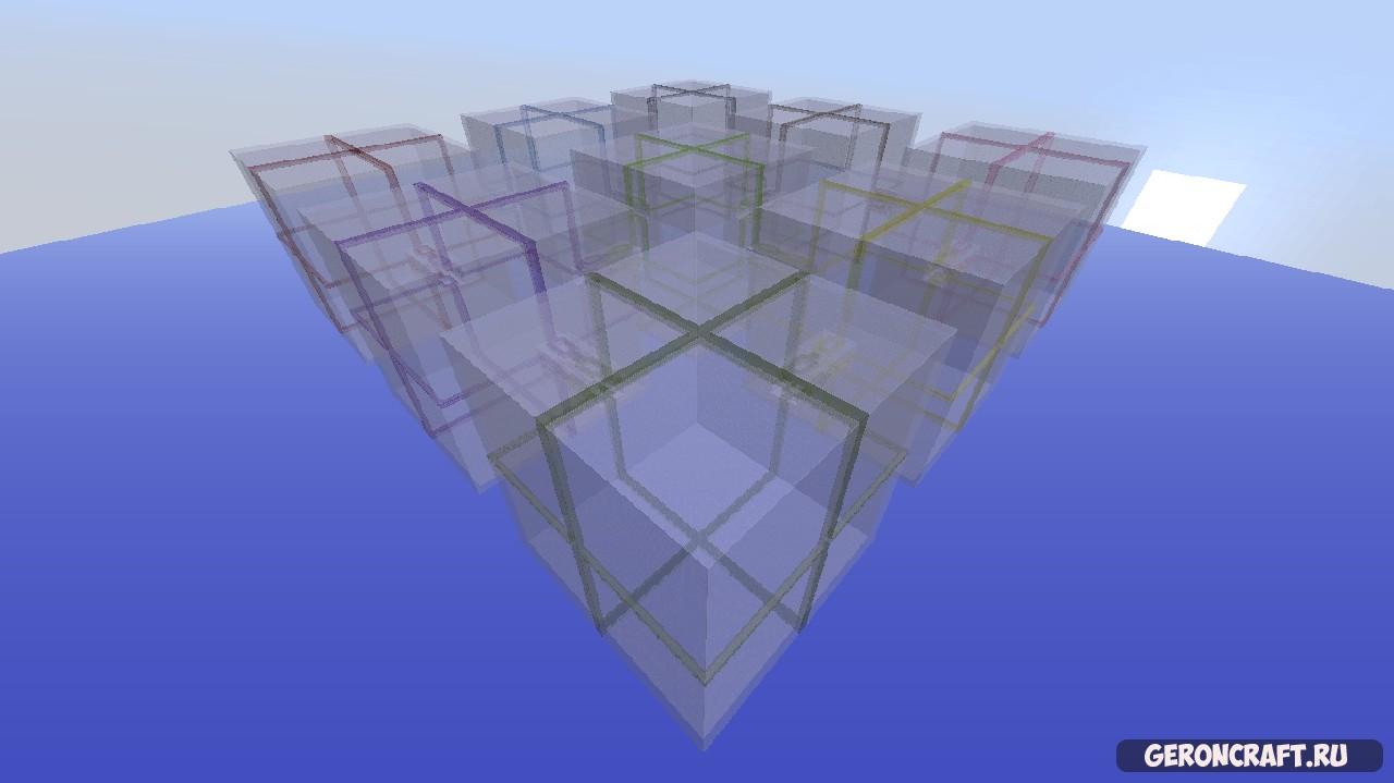 Скачать Nine Cubes карту для Майнкрафт [1.9.4]
