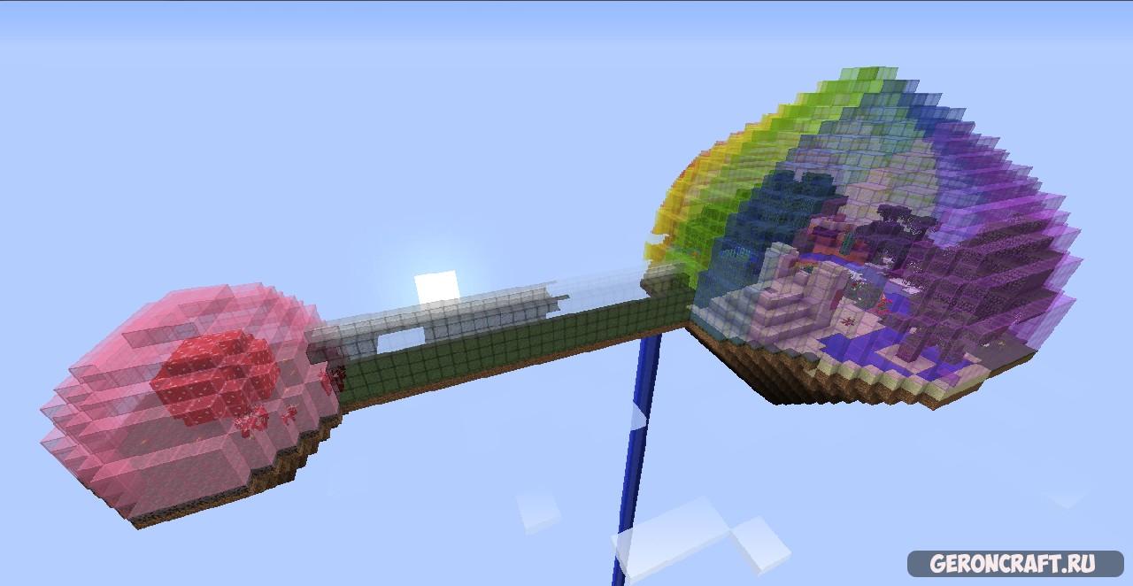 Rainbow Sky Biodome [1.8.9]