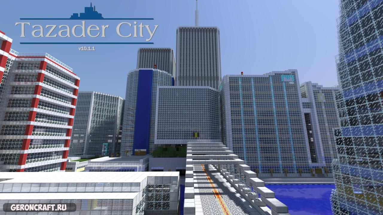Tazader City [1.8.9] [1.7.10]