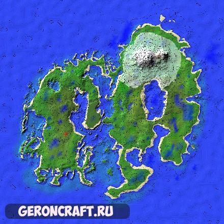 Скачать The Island of Moszark карту для Майнкрафт [1.12.2] [1.11.2] [1.10.2]